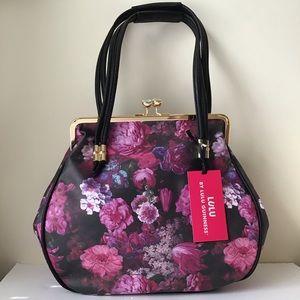 New LuLu Guinness floral satchel handbag